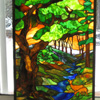 Magical Moment by Stained Glass Artist Yvonne DeViller