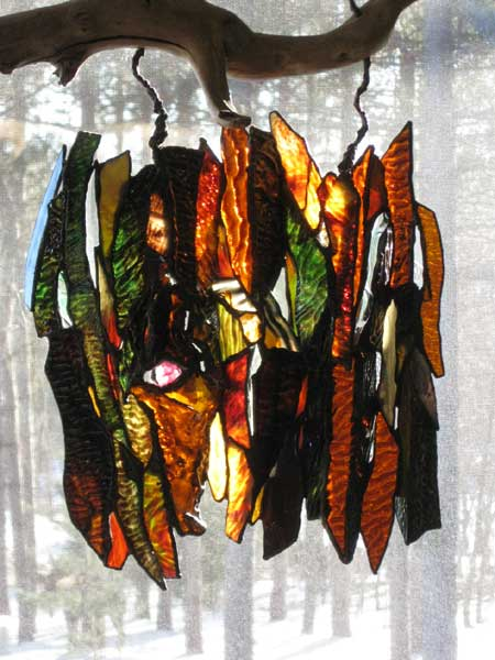 Ode to Tree by Stained Glass Artist Yvonne DeViller