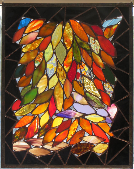 Spring Expressions by Stained Glass Artist Yvonne DeViller